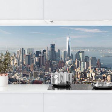 Rivestimento cucina - Vista Da Empire State Building