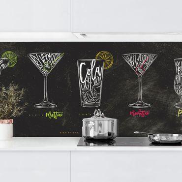 Rivestimento cucina - Cocktail Menu