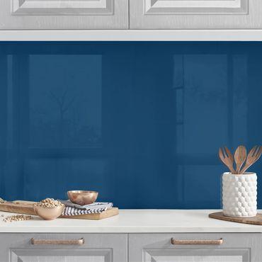 Rivestimento cucina - Blu Prussia