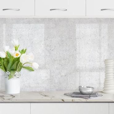 Rivestimento cucina - Parete in cemento Ciré