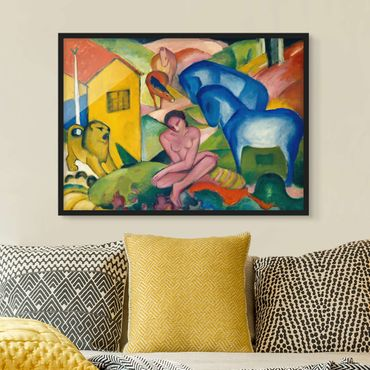 Poster con cornice - Franz Marc - The Dream - Orizzontale 3:4