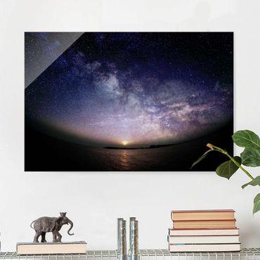 Quadro in vetro - Sole e le stelle in mare - Orizzontale 2:3