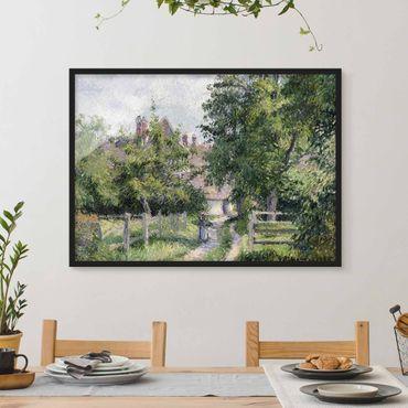 Poster con cornice - Camille Pissarro - Saint-Martin - Orizzontale 3:4