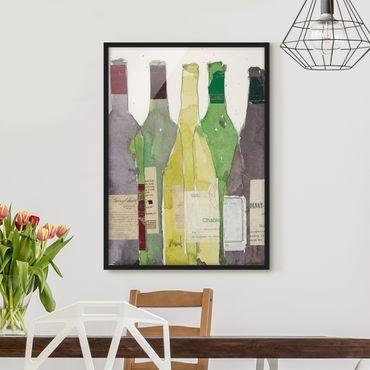 Poster con cornice - Wine & Spirits III - Verticale 4:3