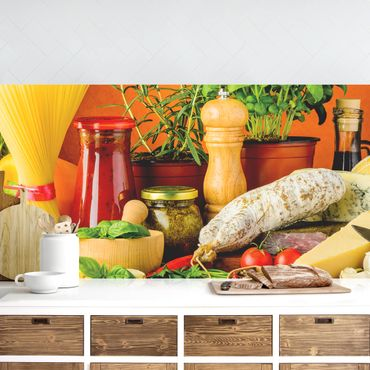 Rivestimento cucina - Cibo Italiano