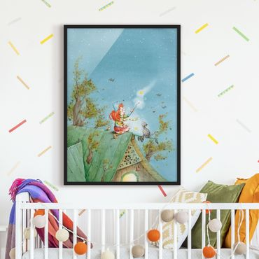 Poster con cornice - Frida And Pumpernickel Let The Star Free - Verticale 4:3