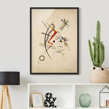 Poster con cornice - Wassily Kandinsky - Annual Gift To The Kandinsky Society - Verticale 4:3