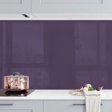 Rivestimento cucina - Color viola scuro