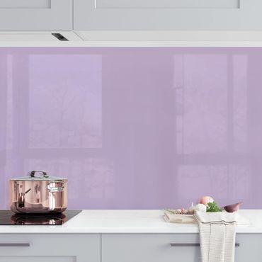 Rivestimento cucina - Color lavanda