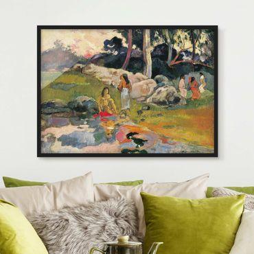 Poster con cornice - Paul Gauguin - Riverside - Orizzontale 3:4