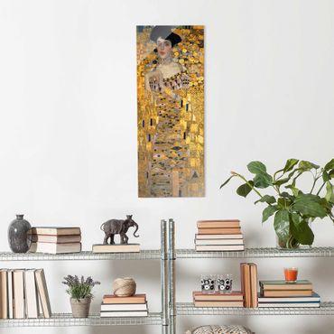 Quadro in vetro - Gustav Klimt - Ritratto di Adele Bloch-Bauer I - Pannello