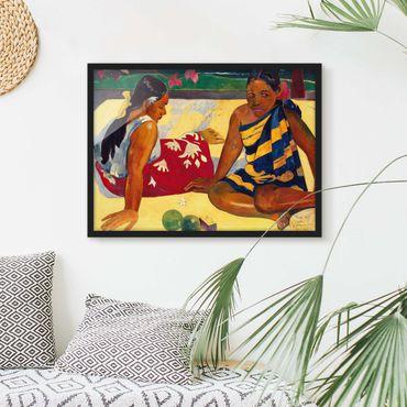 Poster con cornice - Paul Gauguin - Women Of Tahiti - Orizzontale 3:4