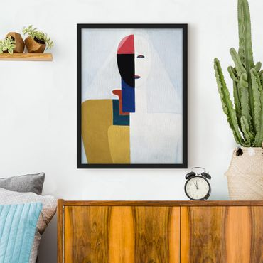 Poster con cornice - Kasimir Malewitsch - Female Torso I - Verticale 4:3
