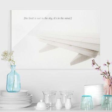 Quadro in vetro - Paesaggi lirici - Cielo - Orizzontale 2:3