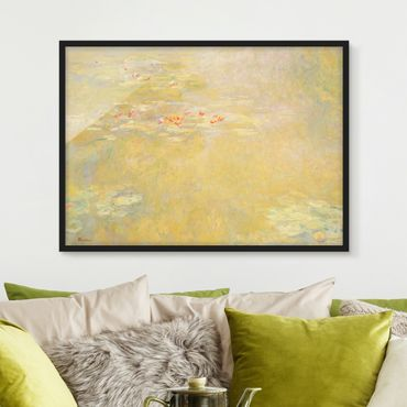 Poster con cornice - Claude Monet - Water Lily Pond - Orizzontale 3:4