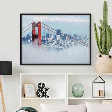 Poster con cornice - Good Morning San Francisco! - Orizzontale 3:4