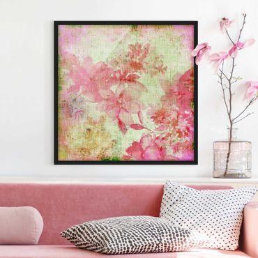 Poster con cornice - Forgotten Beauty III - Quadrato 1:1