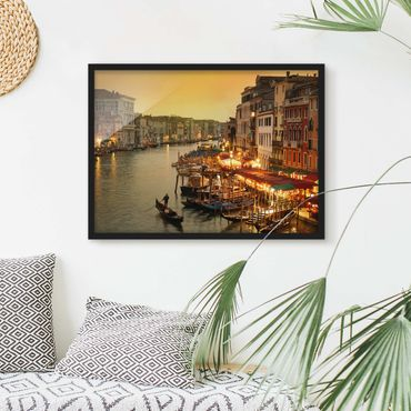 Poster con cornice - Grand Canal Of Venice - Orizzontale 3:4