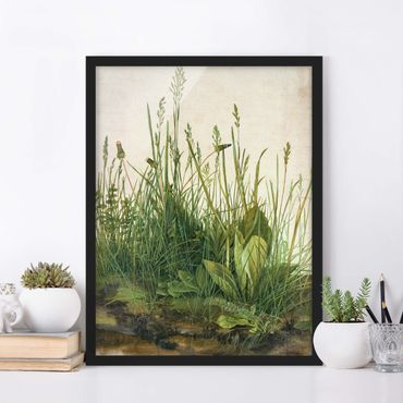 Poster con cornice - Albrecht Durer - The Great Lawn - Verticale 4:3
