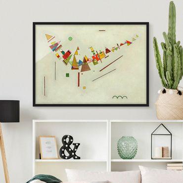 Poster con cornice - Wassily Kandinsky - Angular Momentum - Orizzontale 3:4