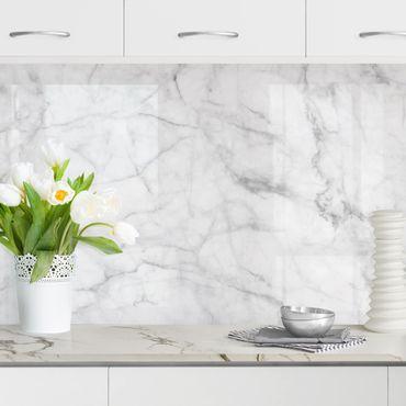Rivestimento cucina - Marmo Bianco Carrara