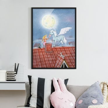 Poster con cornice - Marie's Magic Pony - Verticale 4:3