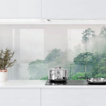 Rivestimento cucina - Giungla nella nebbia