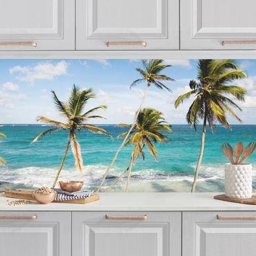 Rivestimento cucina - Spiaggia Di Barbados