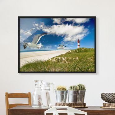 Poster con cornice - Dune Breeze - Orizzontale 3:4