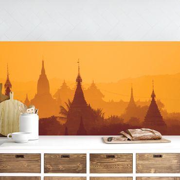 Rivestimento cucina - Città tempio In Myanmar