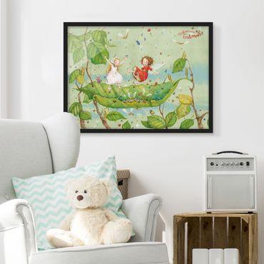 Poster con cornice - The Strawberry Fairy - Trampoline - Orizzontale 3:4