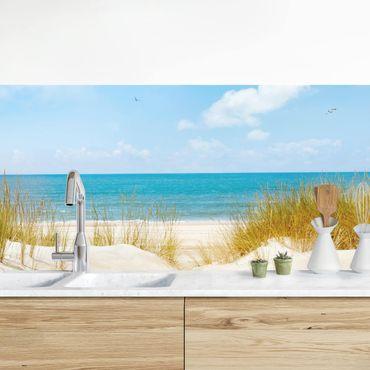 Rivestimento cucina - Spiaggia Sul Mare Del Nord