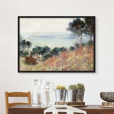 Poster con cornice - Claude Monet - Coast Varengeville - Orizzontale 3:4