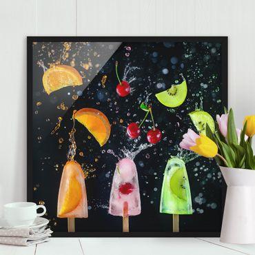 Poster con cornice - Popsicle - Quadrato 1:1