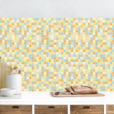 Rivestimento cucina - Mosaici set estate