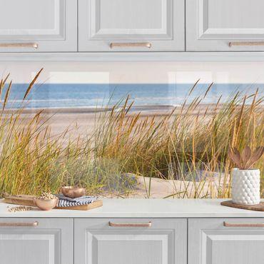 Rivestimento cucina - Dune di sabbia al mare