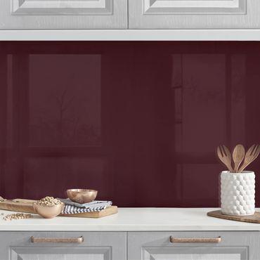 Rivestimento cucina - Color vino rosso toscano