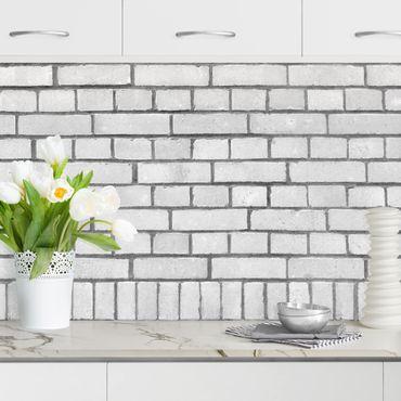 Rivestimento cucina - Effetto pietra muro londinese