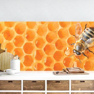 Rivestimento cucina - Honey Bee