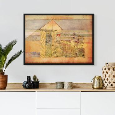 Poster con cornice - Paul Klee - Wonderful Landing - Orizzontale 3:4