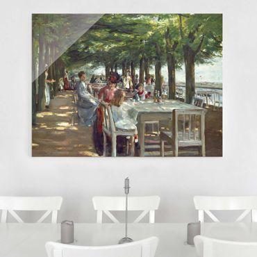 Quadro in vetro - Max Liebermann - The Terrace Restaurant Jacob - Orizzontale 3:4
