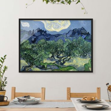 Poster con cornice - Vincent Van Gogh - Olive Trees - Orizzontale 3:4