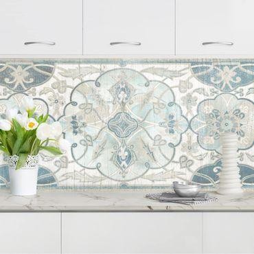 Rivestimento cucina - Pannello vintage stile legno persiano II