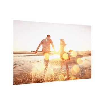 Paraschizzi in vetro - Personalizzato con foto