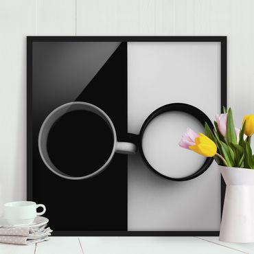 Poster con cornice - Opposites - Quadrato 1:1