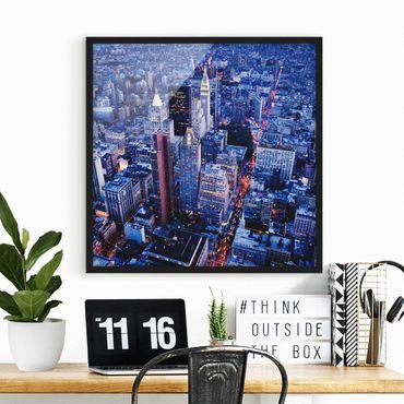 Poster con cornice - Big Apple - Quadrato 1:1