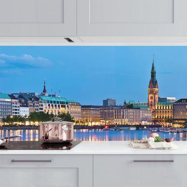 Rivestimento cucina - Skyline Amburgo