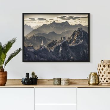 Poster con cornice - The Great Chinese Wall - Orizzontale 3:4