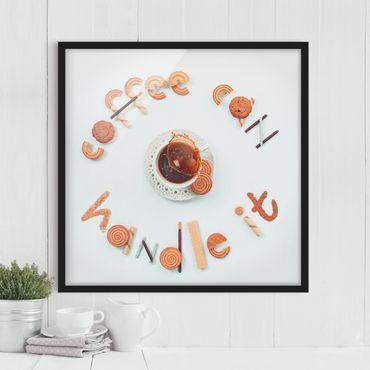 Poster con cornice - Coffee Can Handle It - Quadrato 1:1