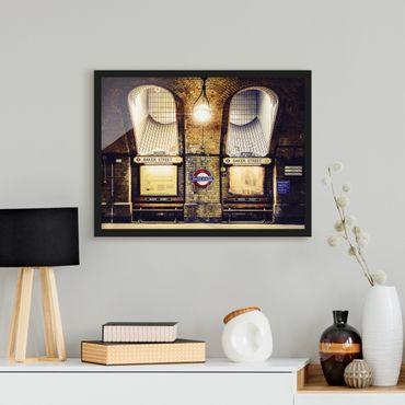 Poster con cornice - Baker Street - Orizzontale 3:4